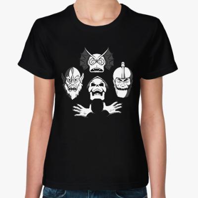 Женская футболка Злодеи
