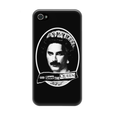 Чехол для iPhone 4/4s God save the Queen