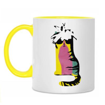 Кружка Wondy из серии 'Art cats'