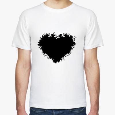 Футболка black heart