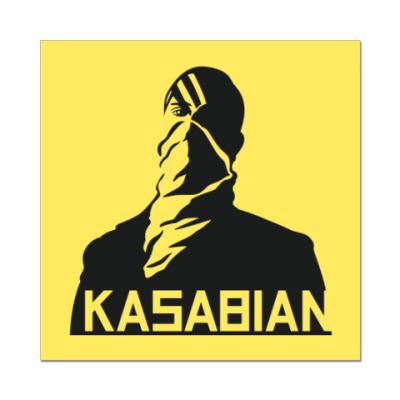 Наклейка (стикер) Kasabian