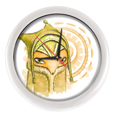 Настенные часы Лисёнок