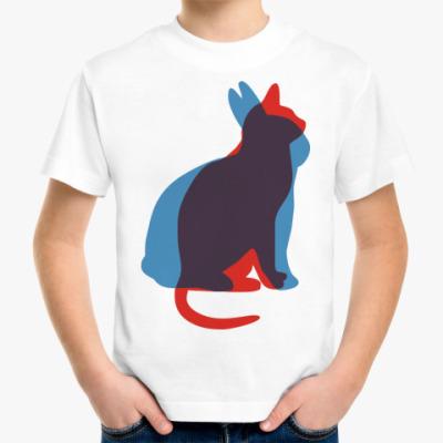 Детская футболка Кот или кролик?