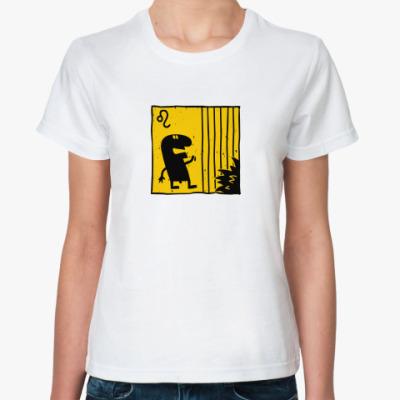 Классическая футболка Лев
