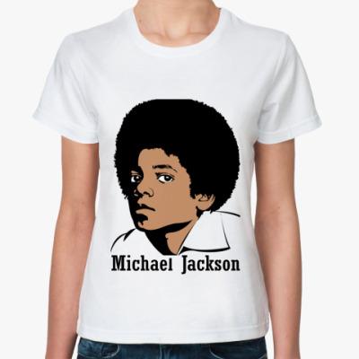 Классическая футболка Майкл Джексон в юности