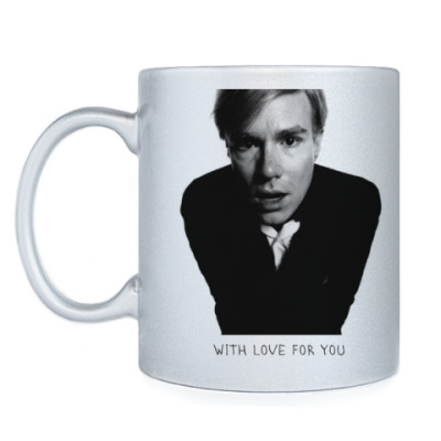 Кружка Andy Warhol forever with love