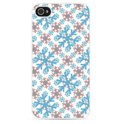 Чехол для iPhone Снежинки
