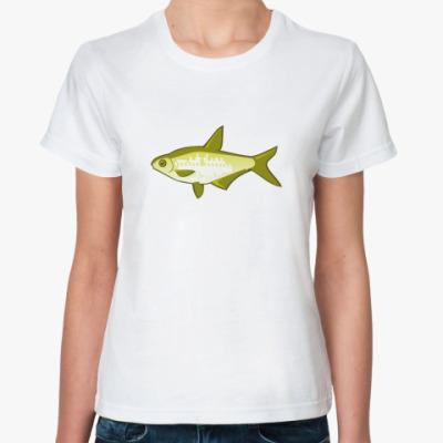 Классическая футболка Рыба