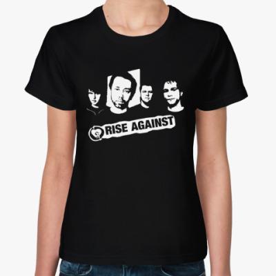 Женская футболка Rise Against