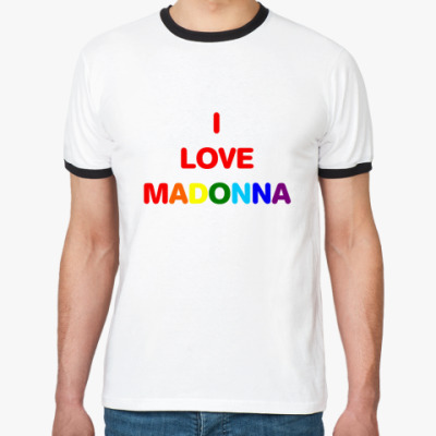 Футболка Ringer-T Maдонна