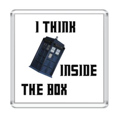 Магнит I think inside the box