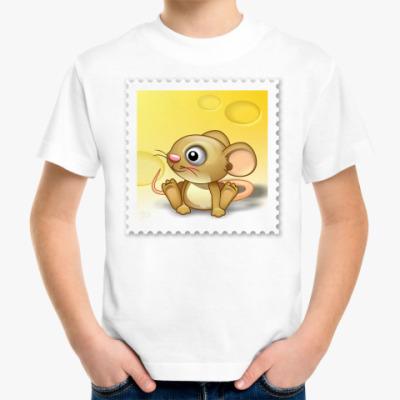 Детская футболка мышонок
