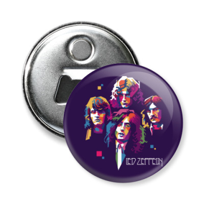 Магнит-открывашка Led Zeppelin