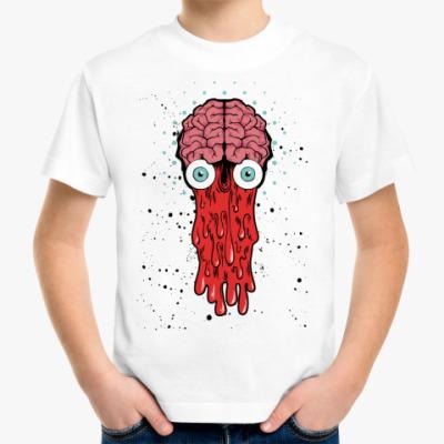 Детская футболка Детская футболка Brain