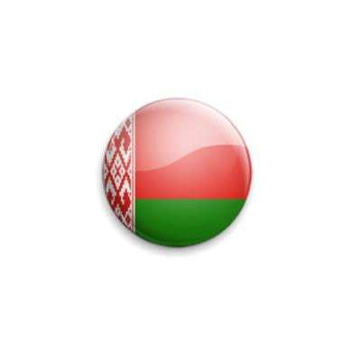 Значок 25мм Belarus