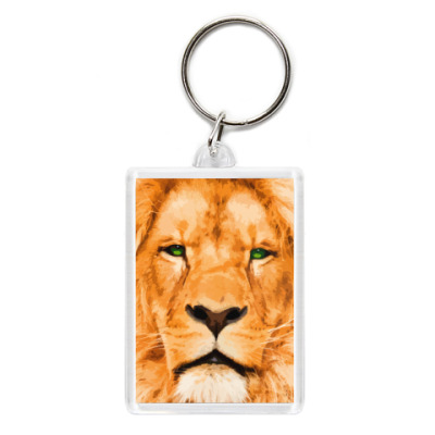 Брелок Рыжий лев