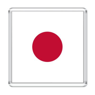 Магнит  Японский флаг