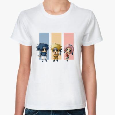 Классическая футболка  Аниме-Наруто