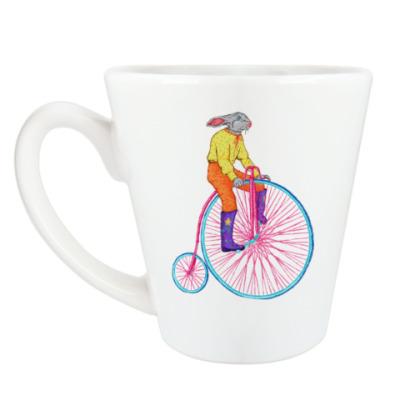 Чашка Латте Вело-кролик