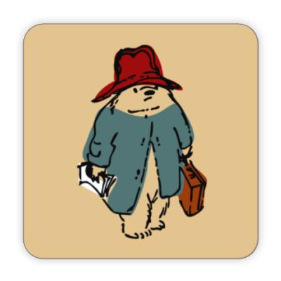 Костер (подставка под кружку) Paddington Bear
