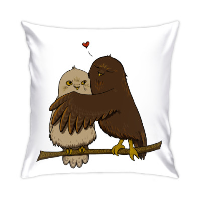 Подушка Совушки-любовушки