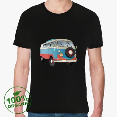 Футболка из органик-хлопка VW Kombi Camper BUS
