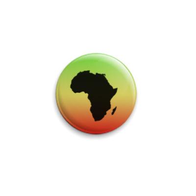 Значок 25мм  Africa