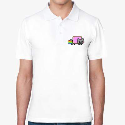 Рубашка поло NyanCat