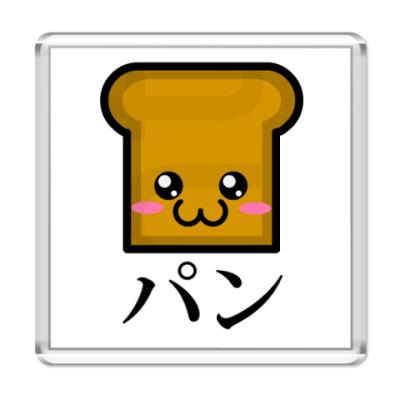 Магнит  Chibi Bread