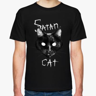 Футболка Satan Cat