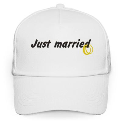 Кепка бейсболка Just married