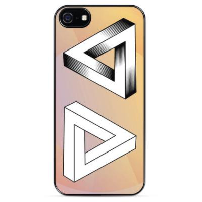 Чехол для iPhone Невозможный треугольник