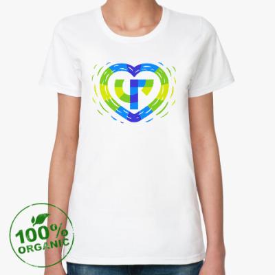 Женская футболка из органик-хлопка ЧГ