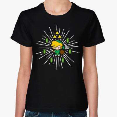 Женская футболка Линк (Зельда)