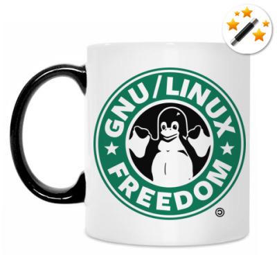 Кружка-хамелеон Линуксоид Che Guevara