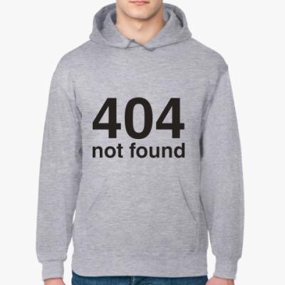 Толстовка худи 404 not found