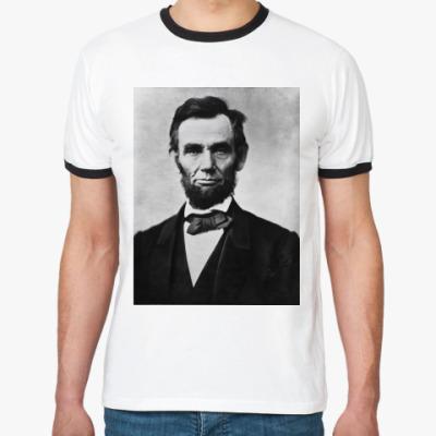 Футболка Ringer-T Abraham Lincoln
