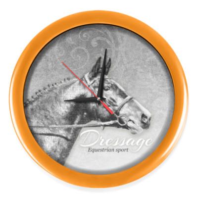 Настенные часы Конный спорт, лошади. Dressage