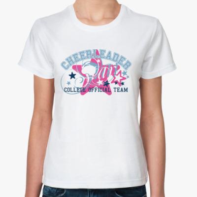Классическая футболка CHEERLEADER