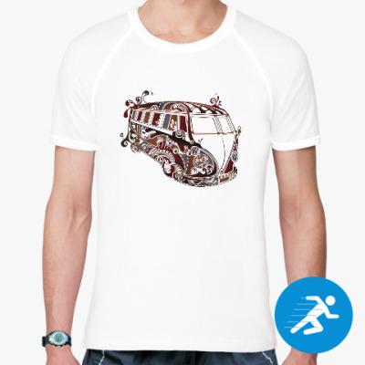 Спортивная футболка VW Kombi BUS
