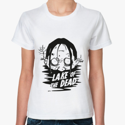 Классическая футболка  футболка Zombie