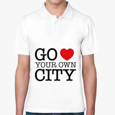 Рубашка поло Love your own city