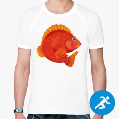 Спортивная футболка Морской окунь
