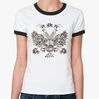 Женская футболка Ringer-T Герб