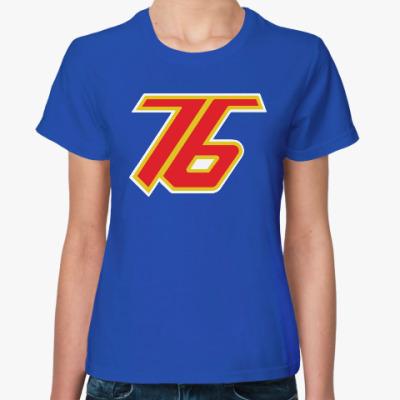 Женская футболка Overwatch Soldier-76