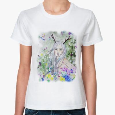 Классическая футболка Лесная фея, эльф