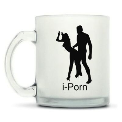 Кружка матовая i-Porn