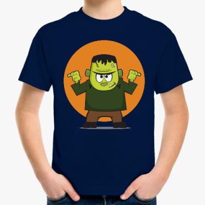 Детская футболка Франкенштейн