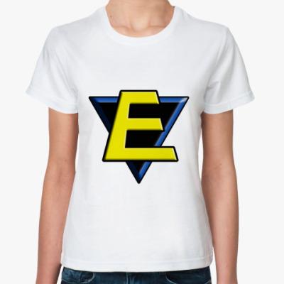 Классическая футболка E