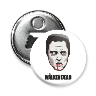 Магнит-открывашка Walken Dead